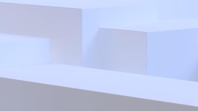 vídeos y material grabado en eventos de stock de blanco abstracto 3d diseño de movimiento formas geométricas en bucle fondo de animación, 4k. - triángulo