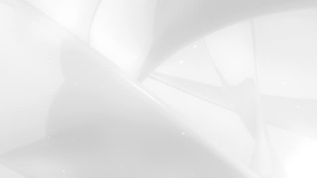 White Abstract Twist Background Loopable