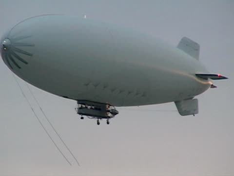 White Blimp