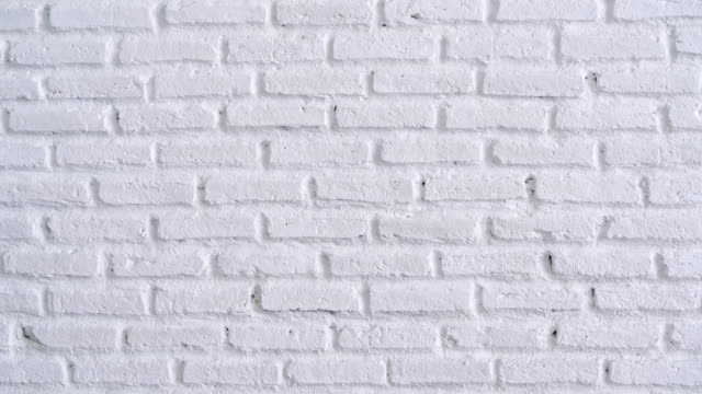 white brick wall background - brick stock videos & royalty-free footage