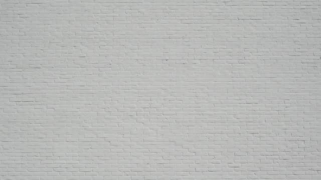 white brick wall - wand stock-videos und b-roll-filmmaterial