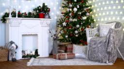 White Christmas Interior