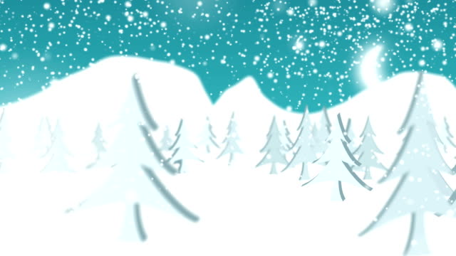 white christmas winter background - snow cornice stock videos and b-roll footage