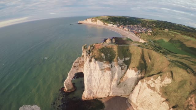 Etretat Stock Videos Royalty Free Footage
