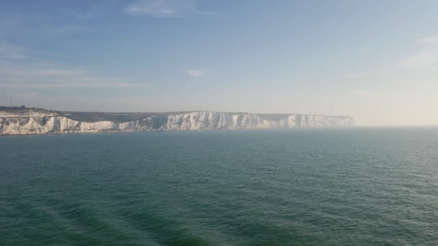 white cliffs of dover - cliff stock videos & royalty-free footage