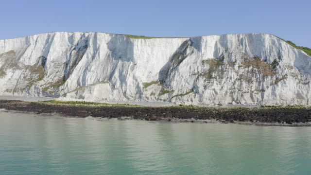 white cliffs of dover - coastline stock videos & royalty-free footage