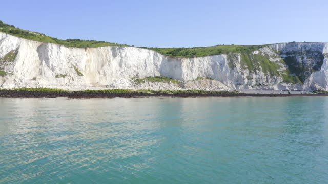 white cliffs of dover - mineral stock videos & royalty-free footage