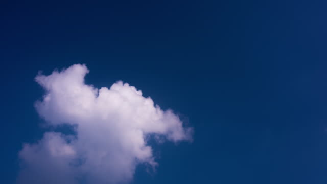 white clouds floated blue sky 4k - cirrocumulus stock videos & royalty-free footage