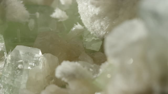 white crystal close up - gemology stock videos & royalty-free footage