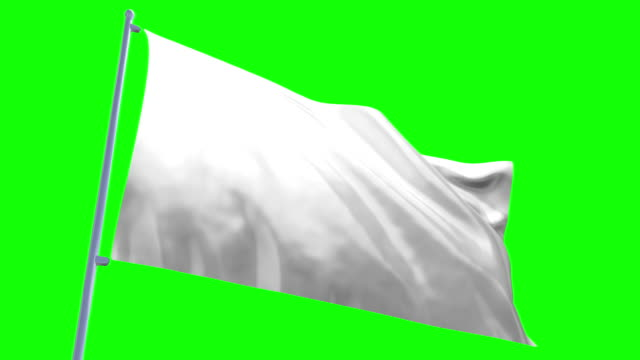 white flag - flag blowing in the wind stock videos & royalty-free footage