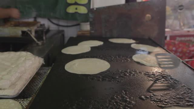 white flour tortillas kitchen - 1910 stock videos & royalty-free footage
