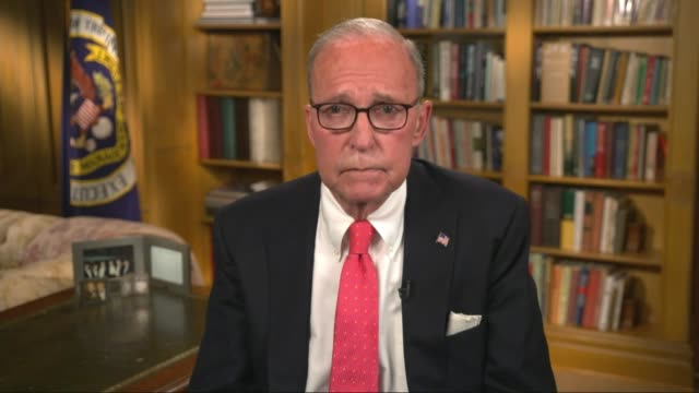 white house chief economic adviser larry kudlow says in taped remarks to the 2020 republican national convention that looking ahead, more tax cuts... - middle class stock videos & royalty-free footage