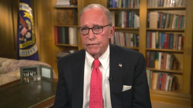 white house chief economic adviser larry kudlow says in taped remarks to the 2020 republican national convention that years ago who worked for ronald... - rising tide stock videos & royalty-free footage