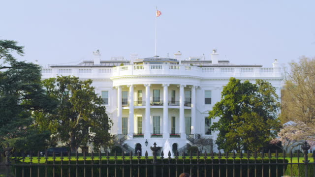 white house dc - white house washington dc stock videos & royalty-free footage