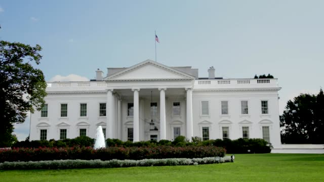 white house north facade lawn washington, dc - donald trump us president stock videos and b-roll footage
