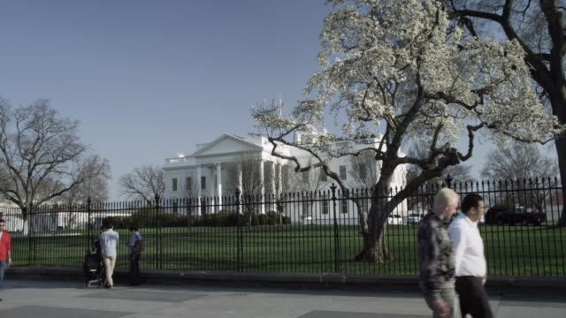White House North Washington DC