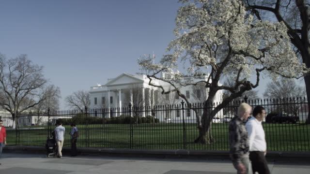 white house north washington dc - 2010年代点の映像素材/bロール