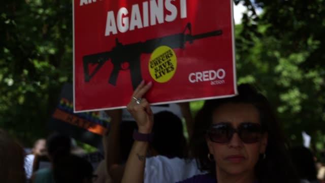 white house protest - gun control stock videos & royalty-free footage