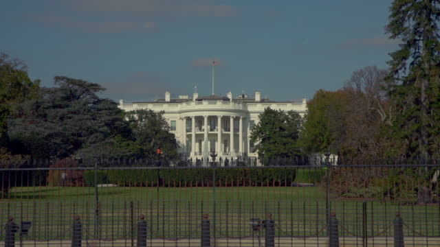white house south lawn washington, dc in 4k/uhd - donald trump us president stock videos and b-roll footage