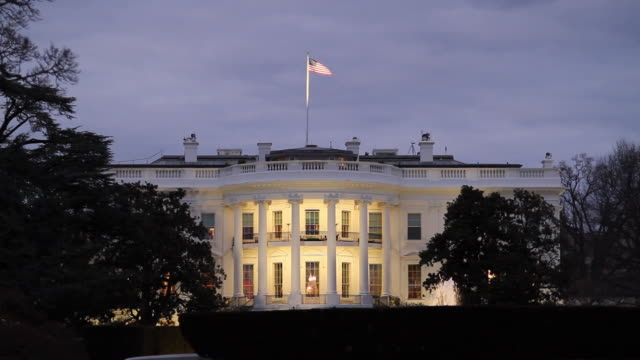 white house south - white house washington dc stock videos & royalty-free footage