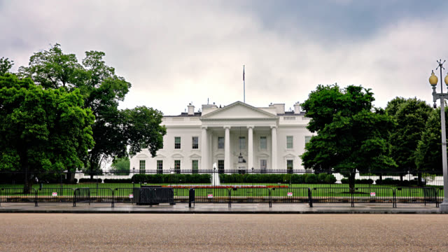 white house. washington dc - la casa bianca washington dc video stock e b–roll