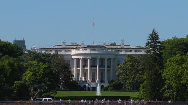 hd ホワイトハウス zoomin_1(1080 /24p - ワシントンdc ホワイトハウス点の映像素材/bロール
