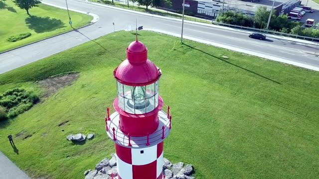white lighthouse of canada ,ottawa - ottawa stock videos & royalty-free footage