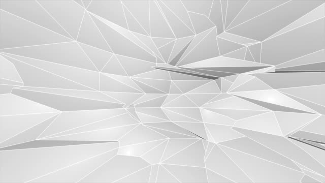 white low poly abstract background. seamlessly loopable. - polygonal human face stock videos & royalty-free footage