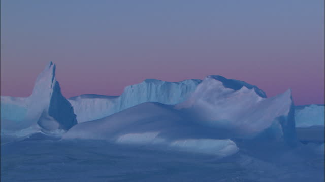 white night and landscape of antarctica - antarctica night stock videos & royalty-free footage