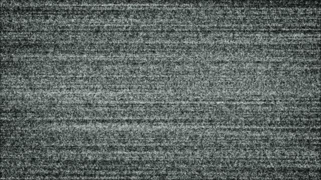 Bruit blanc sur la télévision