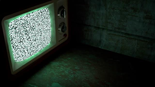 white noise - analog stock videos & royalty-free footage