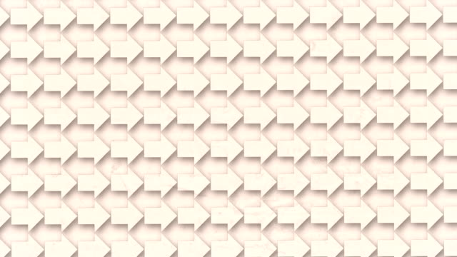 white old concrete surface with abstract pattern of spinning arrows. optical art background. digital seamless loop animation. 3d rendering. 4k, ultra hd resolution - optical illusion stock videos & royalty-free footage