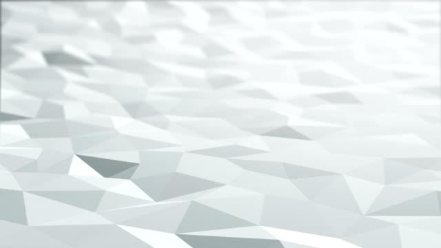 White polygonal surface loop