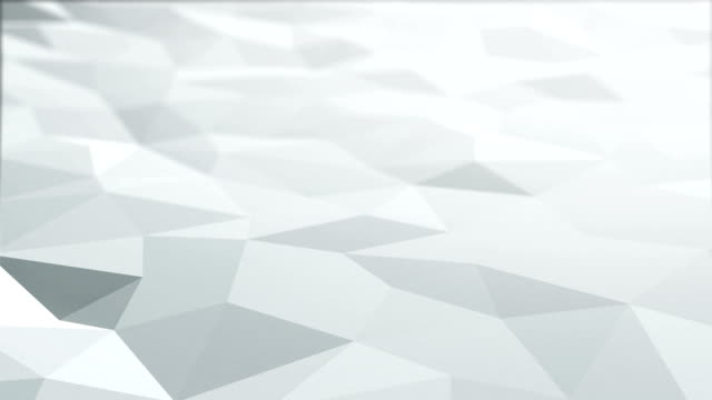 white polygonal surface loop - gray color stock videos & royalty-free footage