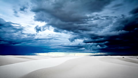 white sands national monument timelapse - climate stock videos & royalty-free footage
