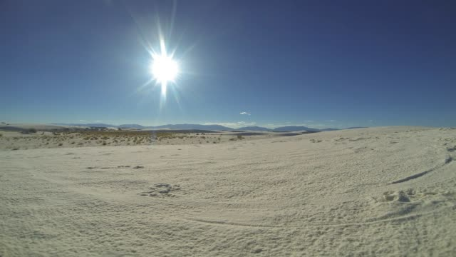 White Sands Time lapse
