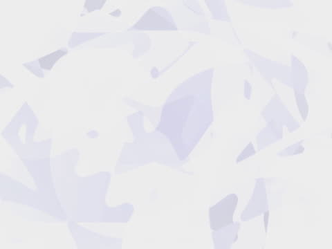 White shapes rotating