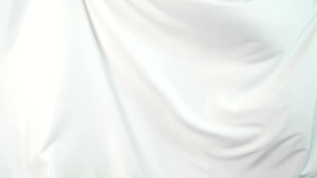 white silk, background - textile stock videos & royalty-free footage