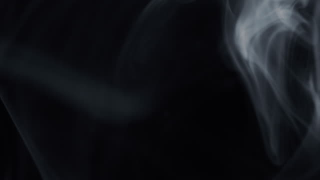 white smoke on black background - multi layered effect stock videos & royalty-free footage