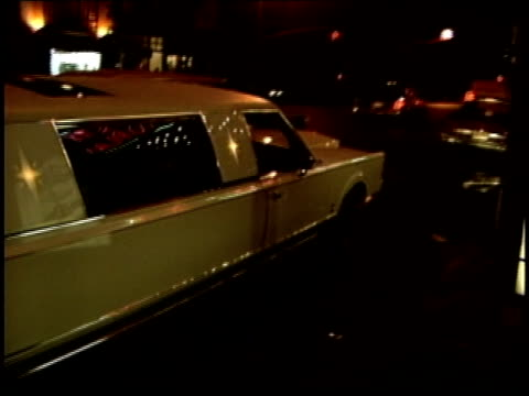 white stretch limo in nyc - limousine stock videos & royalty-free footage