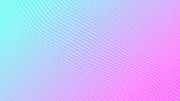White stripes on a gradient magenta cyan background. Motion Design