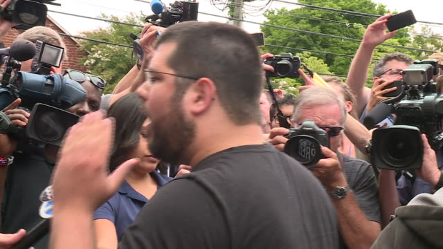 WTVR White Supremacists Outside Courthouse On Day of James Fields' First Court Appearance on Aug 14 2017Two days after Fields a neoNazi plowed his...