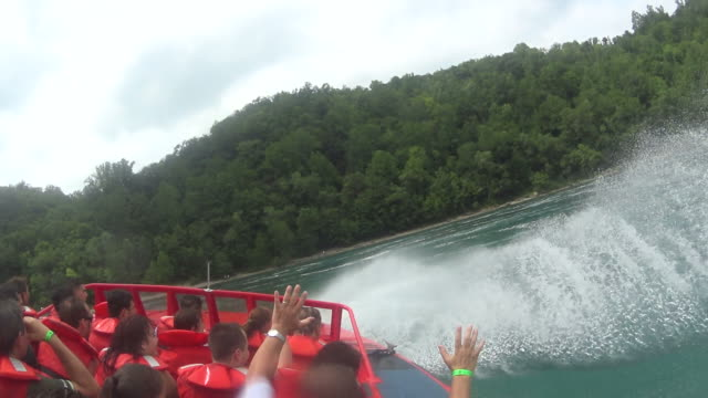 White Water mit dem Jet-Boot
