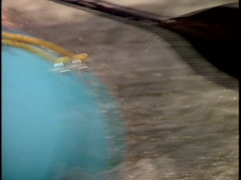 slo mo, ecu, td, tu, pan, focusing, white water rafters paddling through rapids, otter slide, north creek, adirondack state park, new york state, usa  - adirondacks rafting stock videos & royalty-free footage