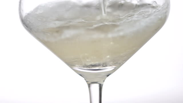 White Wine Closeup Macro