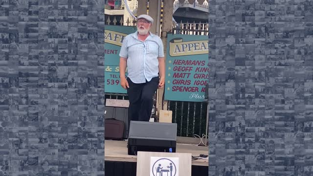 white-haired englishman showed off his slick dance moves on an outdoor stage in southport, england, delighting a crowd earlier this summer. angela... - southport england stock videos & royalty-free footage
