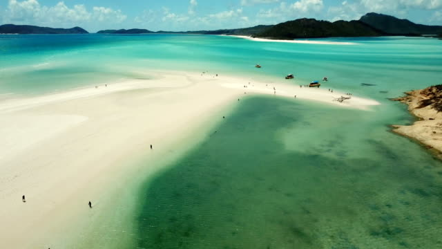 Whitehaven Beach. Luftbild