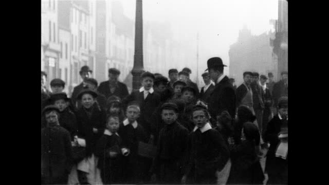 1902 whitehaven street scenes - london england stock videos and b-roll footage