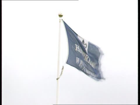 semtex found itn lib england cambs whitemoor prison gv prison la prison flag flying on flagpole lms prison sign and vehicle entrance behind prison... - whitemoor prison stock videos and b-roll footage