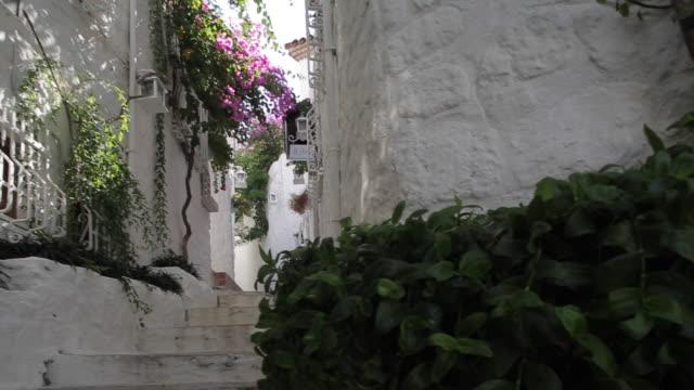 Whitewashed Alleyway, Marmaris, Anatolia, Turkey